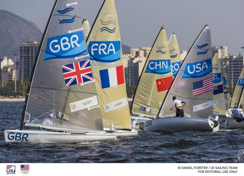 Olympic Sailing Finn Class