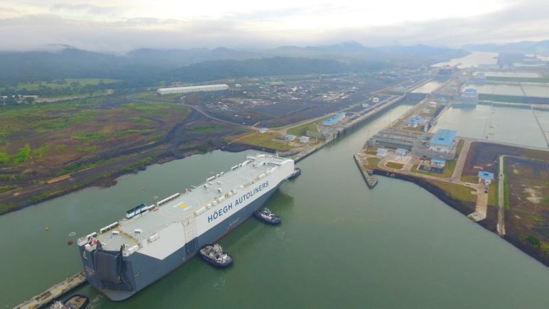 Photos courtesy of the Panama Canal Authority