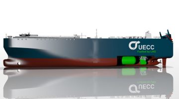 World's First LNG-Powered Car Carrier Delivered