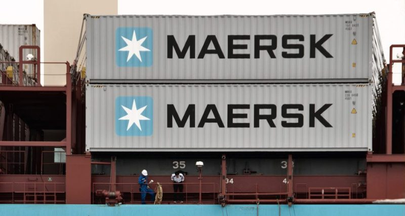 maersk line containers