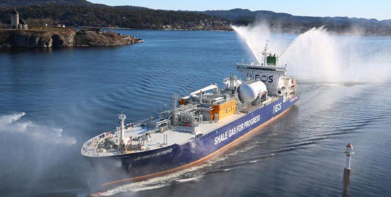ineos DRAGON SHIPS ethane carier