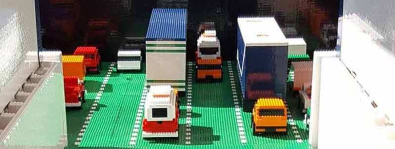 Loading Ramp Aboard Largest Lego Ferry