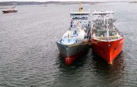 First Ship-to-Ship LNG Bunkering Completed in Sweden