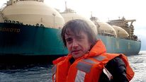 WATCH: Join Top Gear's Richard Hammond For A Look Inside The World's Largest Floating Bomb (a.k.a. an LNG Super Supercarrier)