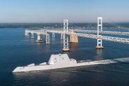 USS Zumwalt Breaks Down in Panama Canal