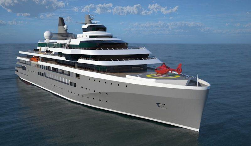 Damen's next-generation Expedition Cruise Vessel. Credit: Damen