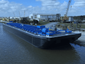 C&C Marine and Repair Delivers Double Skin Tank Barge