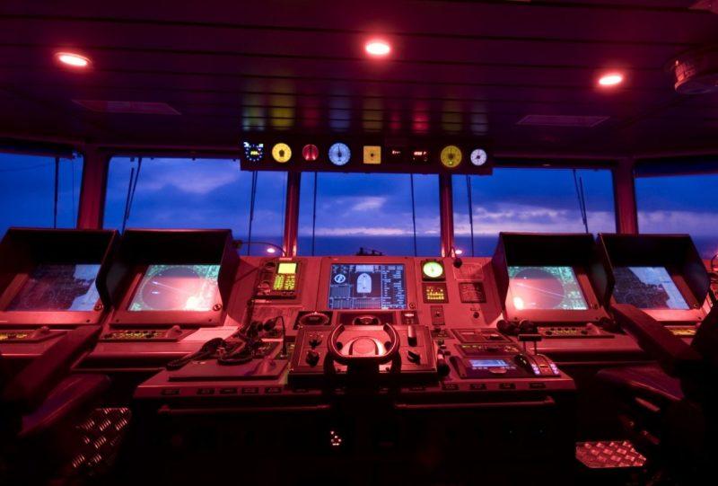 navigation bridge ship