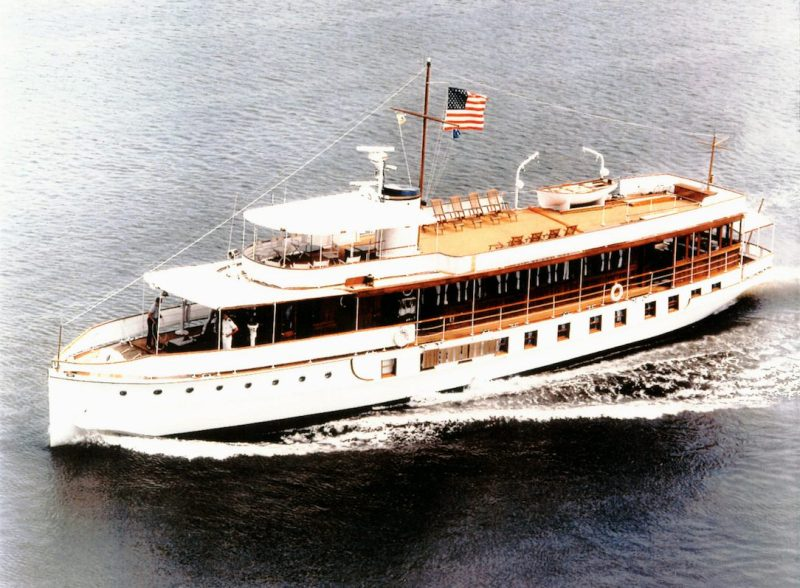 Presidential Yacht USS Sequoia (AG 23)