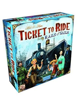 Ticket To Ride Rails and Sail-boats