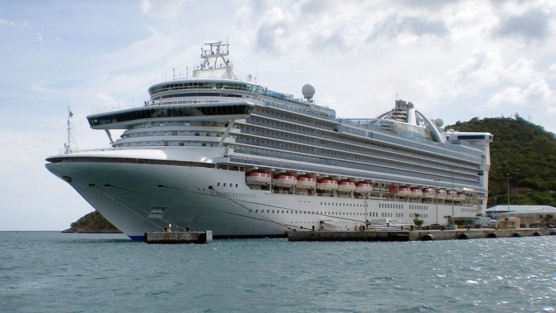 Caribbean Princess. File photo: CC BY-SA 3.0