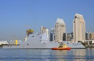 Ship Photos of the Day – USS Zumwalt Arrives in San Diego