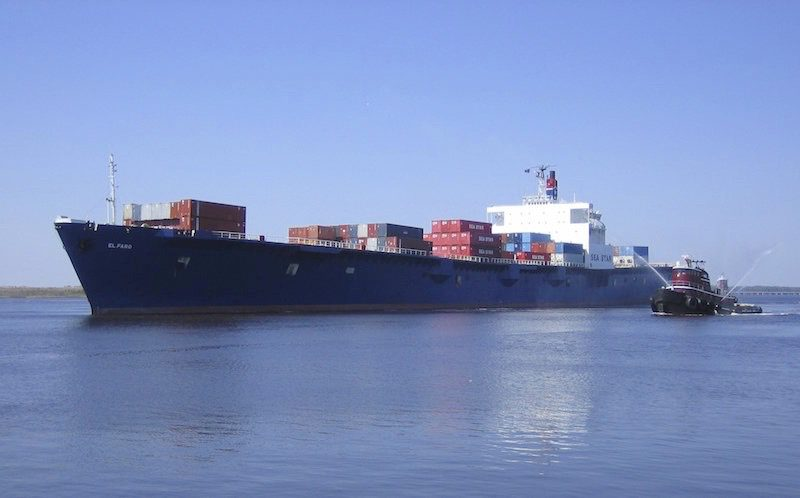 SS El Faro. Photo: Tote Maritim