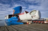 Siemens Delivered Customized Wind Turbine Transport Vessel 'Rotra Vente'