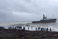 Incident Photos: Tug and Barge Aground in the Philippines