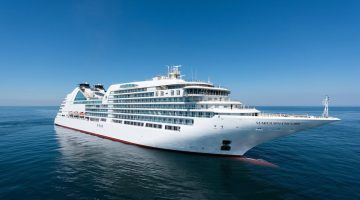 Incident Video: Brand New Luxury Cruise Ship Breaks Moorings, Crashes Into Vessel in New Zealand