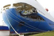City of Rotterdam extensive bow damage