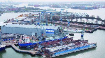 Damen Shiprepair & Conversion Announces Layoffs at Dutch Yards