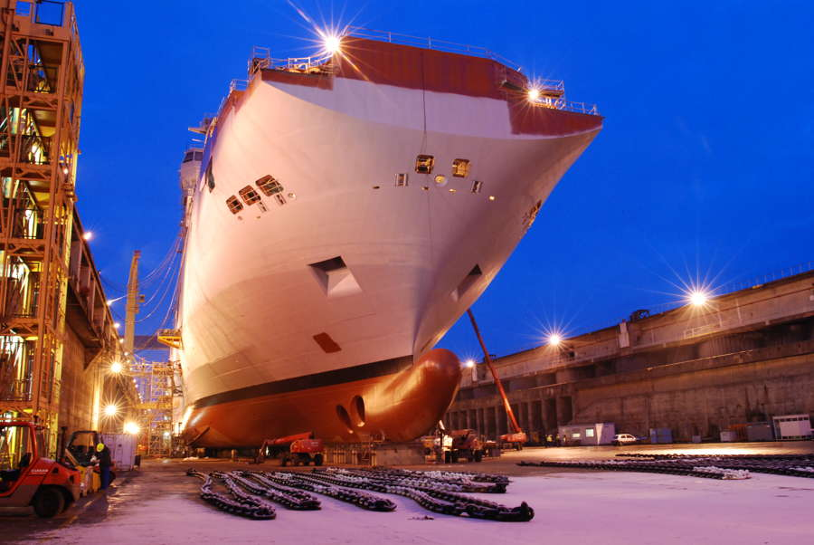 Shop Art Saint Nazaire Italy's Fincantieri To Take Control Of France's Stx
