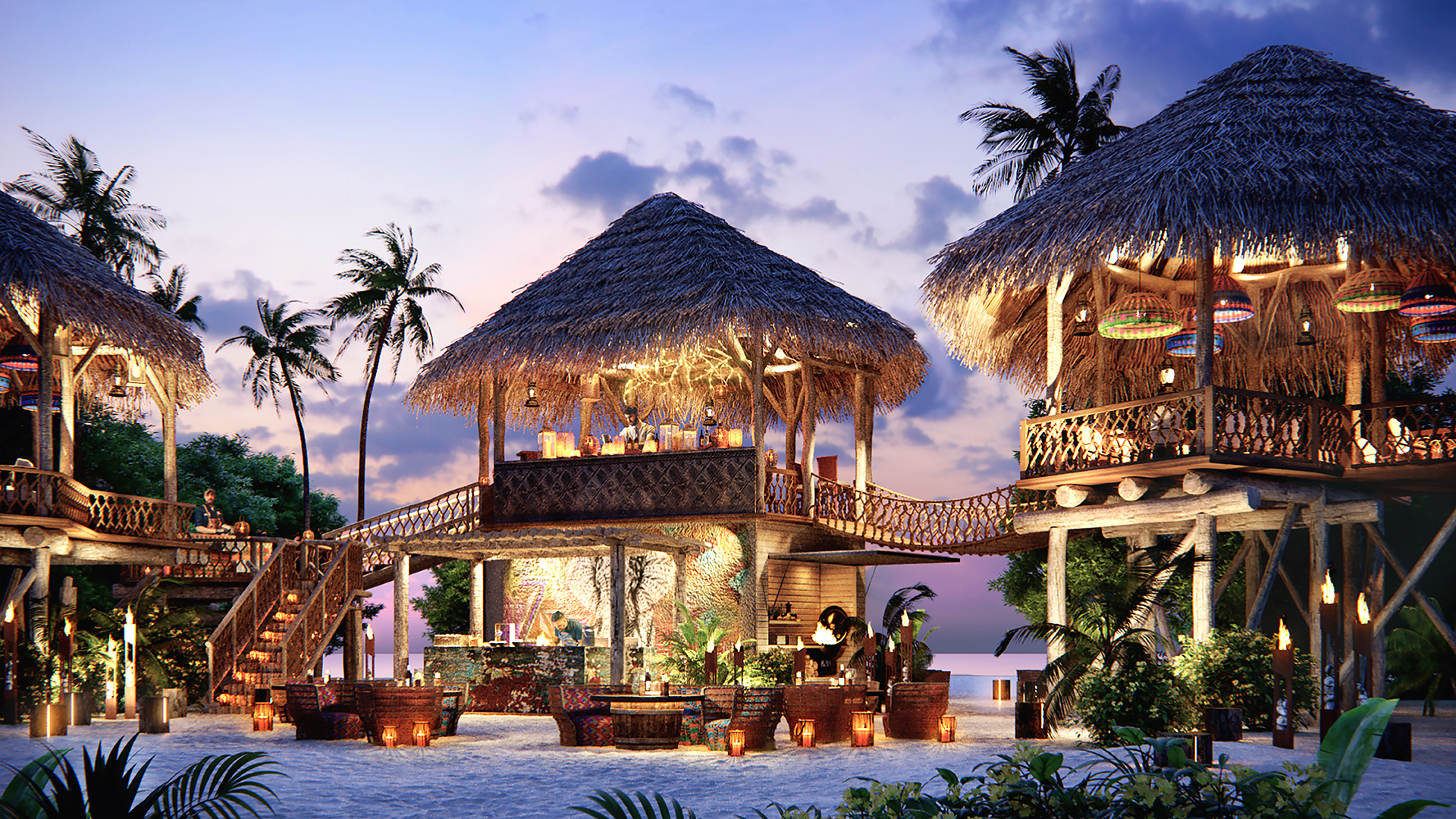 Malediven Haus Im Wasser Jw Marriott Maldives Resort & Spa - Global Communication