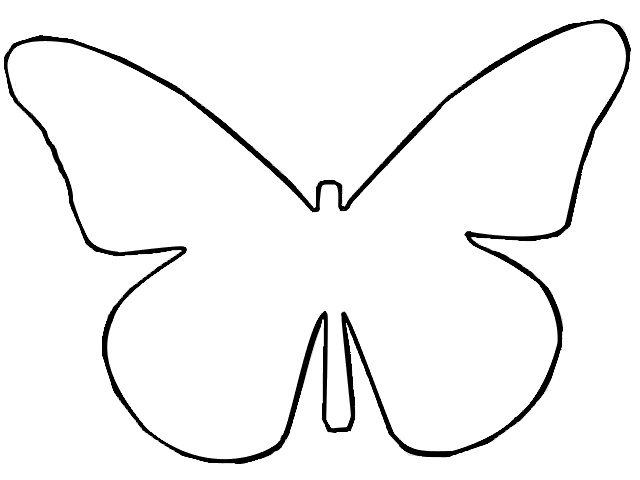 Butterfly outline butterflies and on u2013 Gclipart - butterfly template