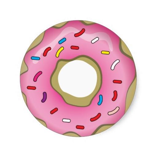 Donut Wallpaper Cute Pink Donut Clipart Gclipart Com