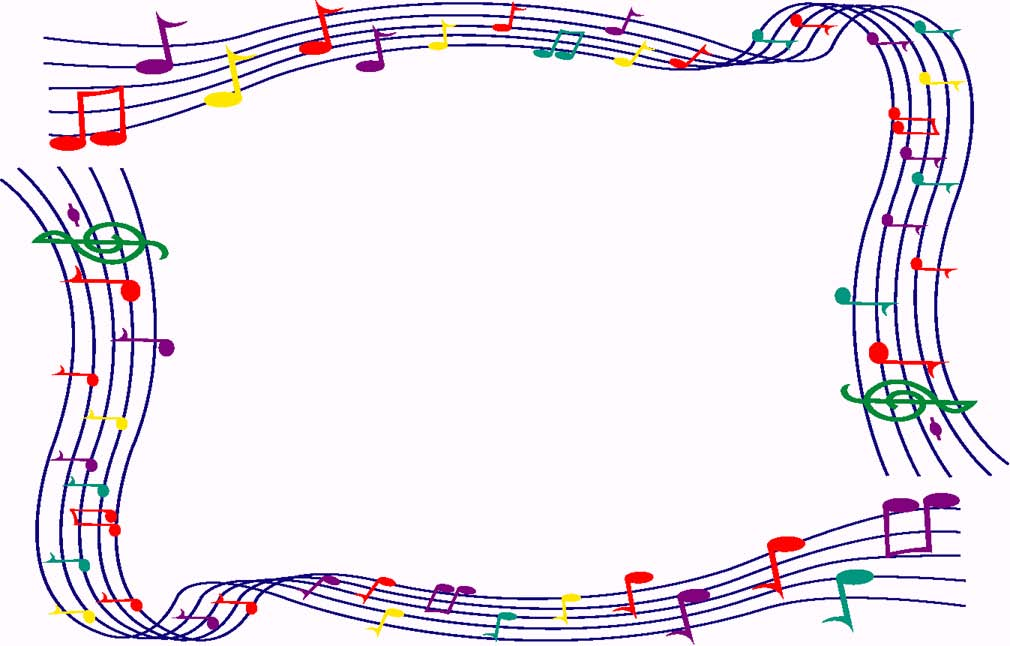 Music border music note border for microsoft word free 2 \u2013 Gclipart - free page borders for microsoft word