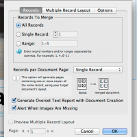 How to Data Merge in Indesign CS6 Tutorial