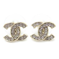Qoo10 - Chanel Earrings A88550 GD CHANEL Accessories CC ...