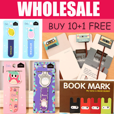 Qoo10 - Magnetic Bookmark  Stationery  Supplies