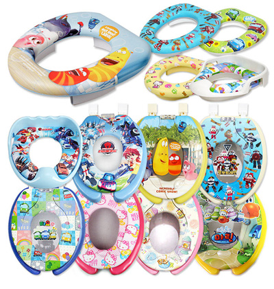 Qoo10 - ☆Potty Training For Kids☆ Character Toilet Seat / Hello - hello kitty potty