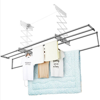 Qoo10 Wellex Ceiling Mounted Folding Laundry Drying Rack