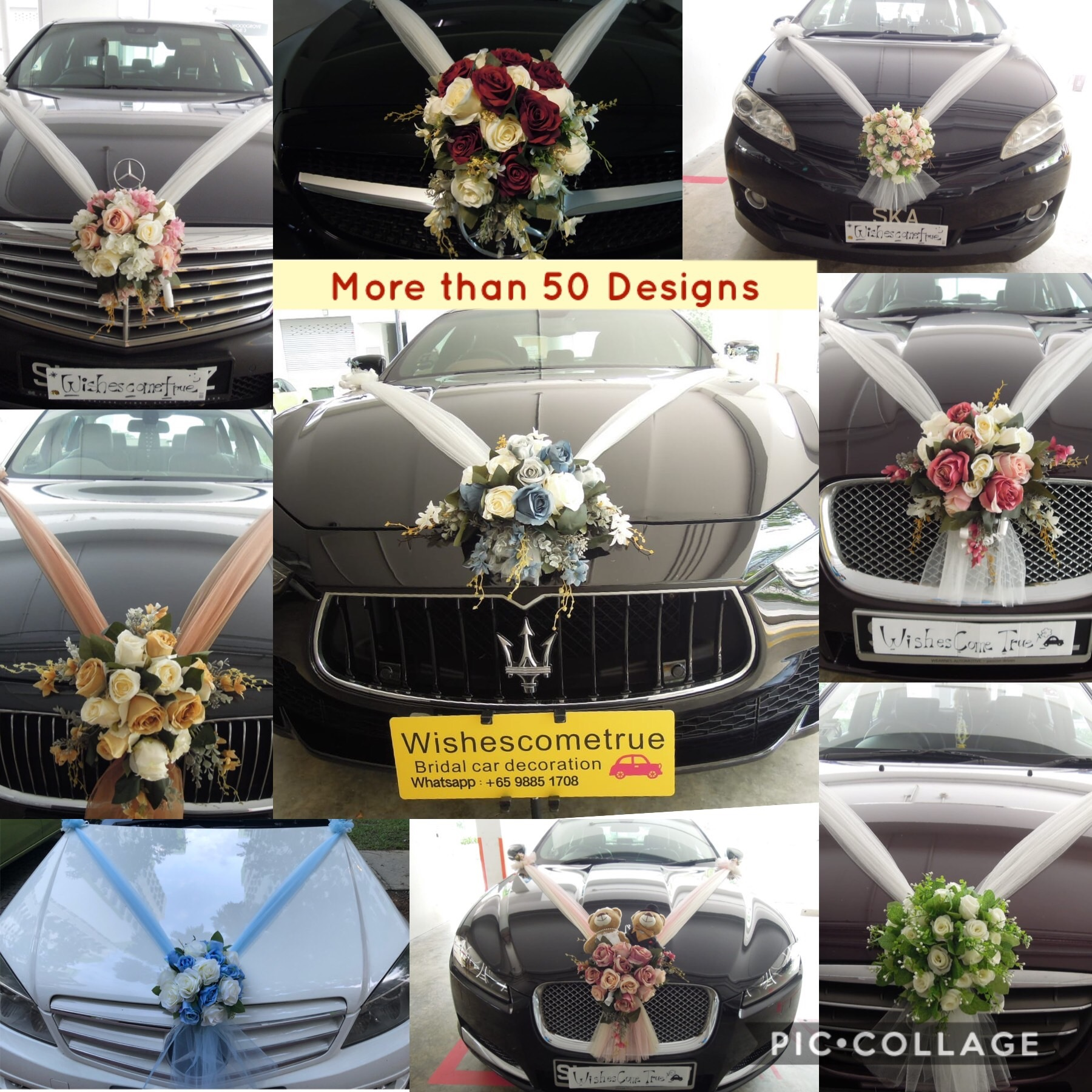 Car Decoration Weding Bridal Car Decoration Wedding Car Decoration Wedding Car Deco Bridal Car Deco Wedding Car Decor
