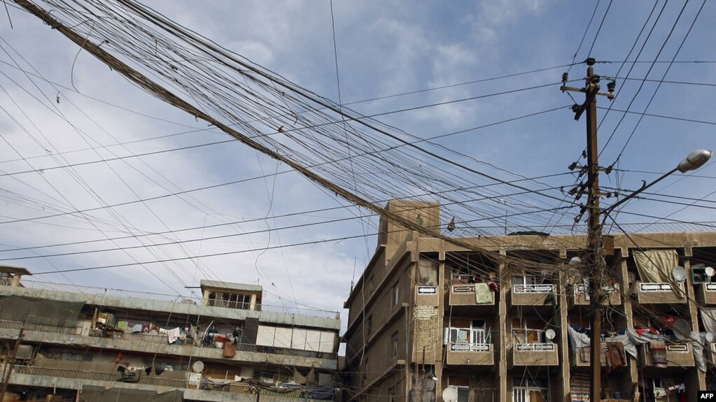 Iraq Plans To Alleviate Electricity Shortages By Summer