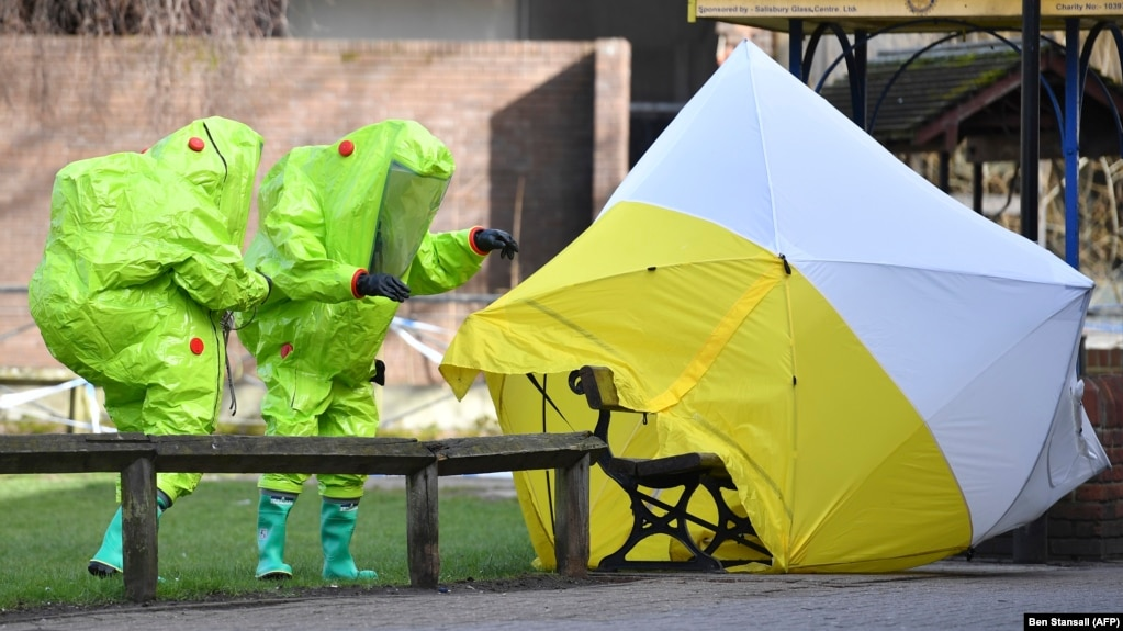Toxicologist Lab With \u0027Military Capability\u0027 Likely Made Poison Used