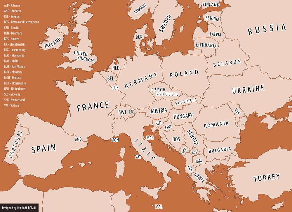 Europe On Eve Of WWI Vs Today