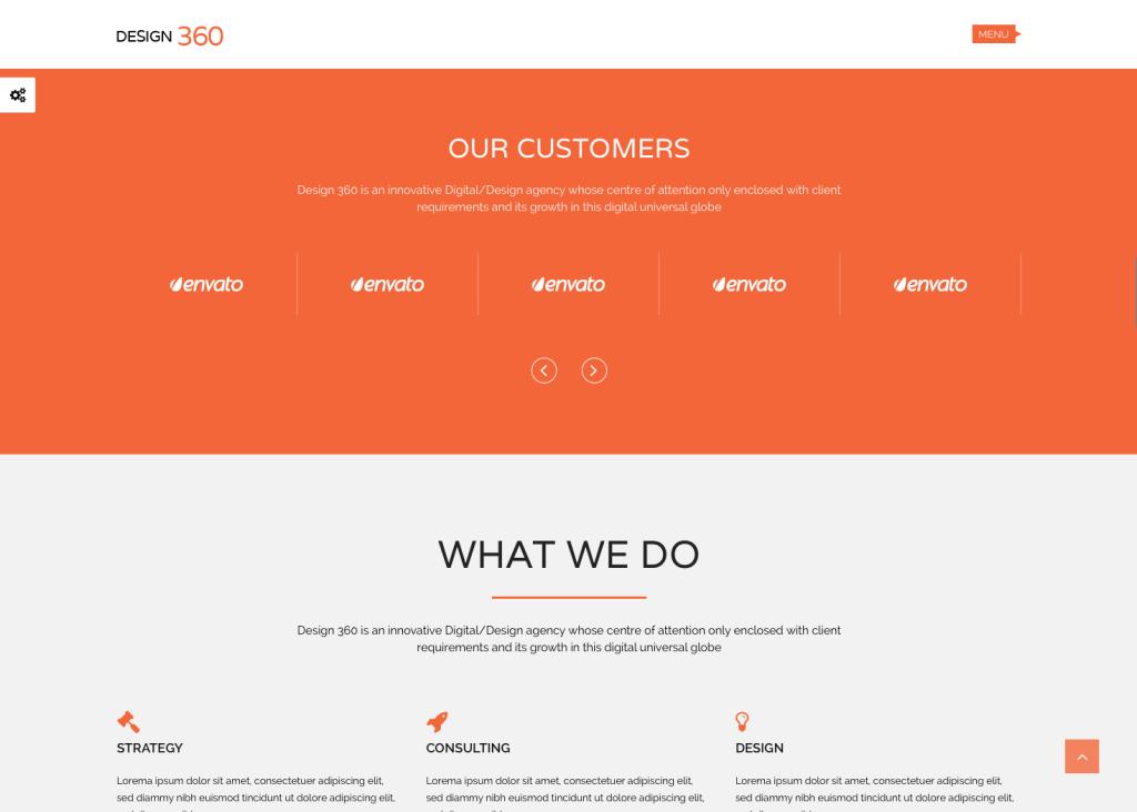 web site typography