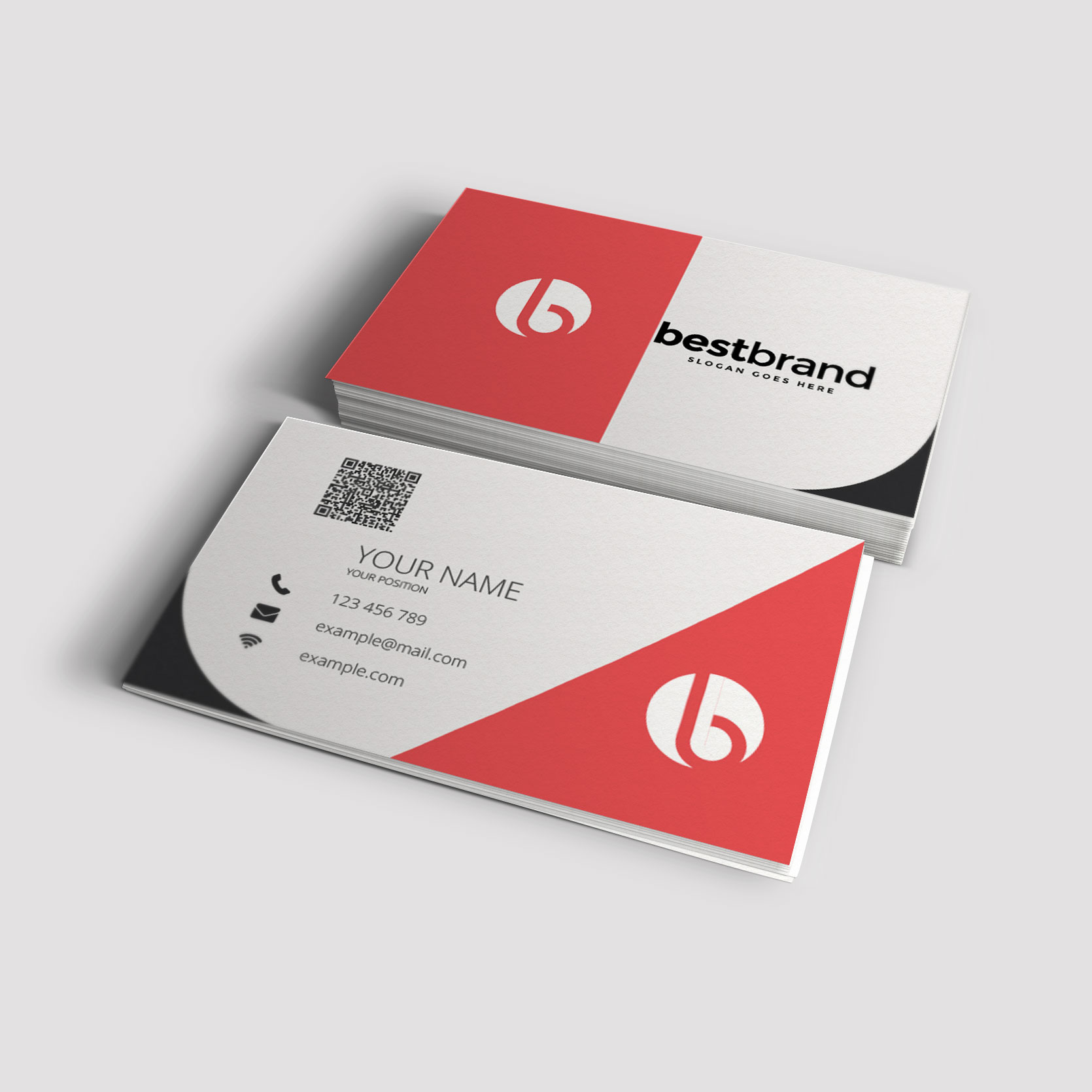 b card 28 images modern corporate business card by nazdrag on