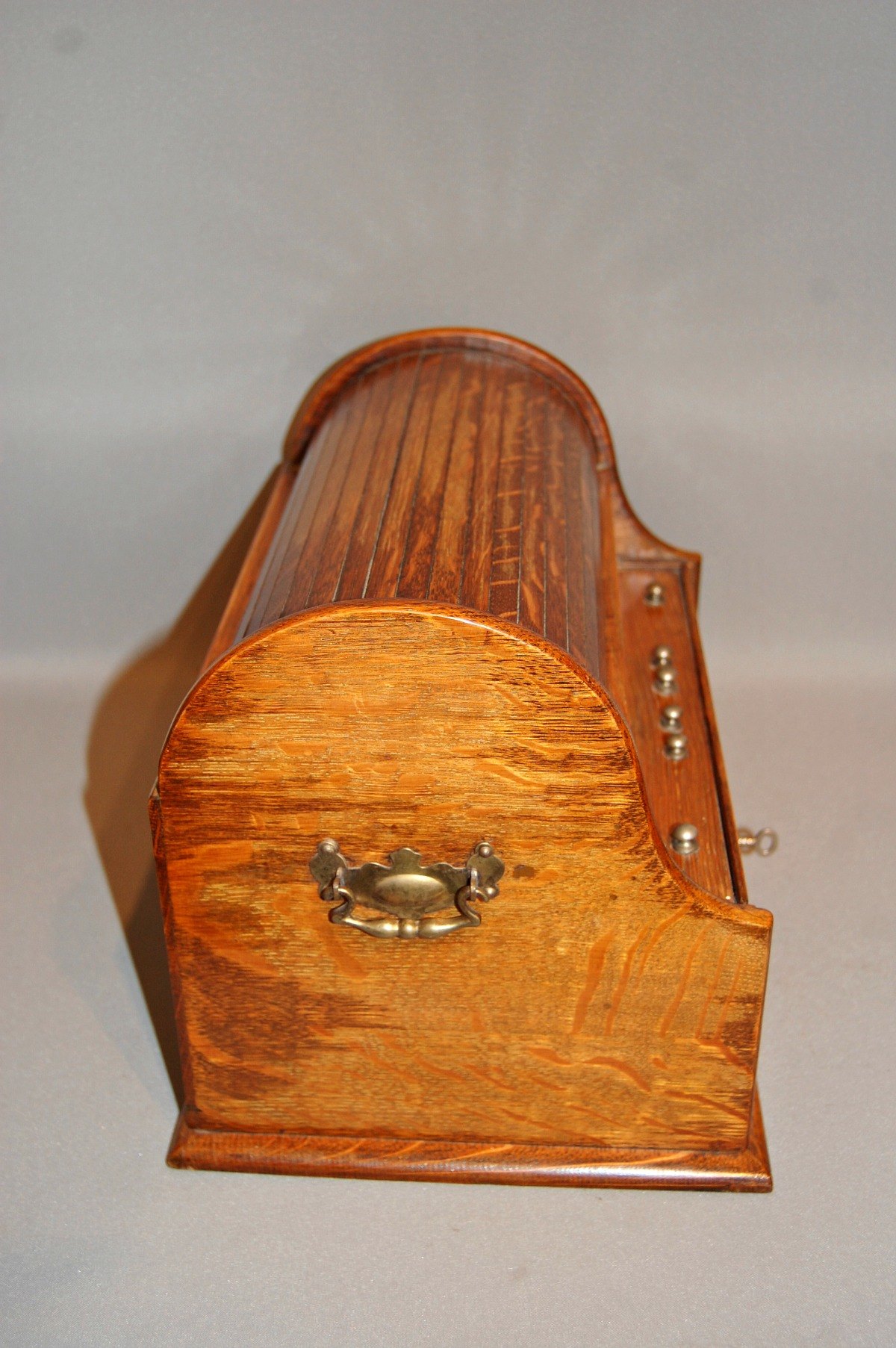 Unusual Desk Unusual Late C19th Tambour Top Calendar Desk Box