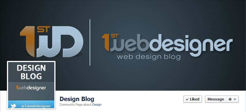 35 Best Blogs Facebook Timeline Covers Inspiration Graphic