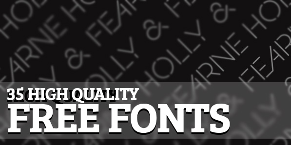 High Quality Free Fonts For Designers Fonts Graphic Design Junction