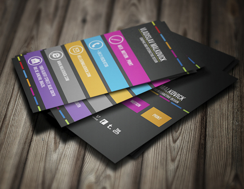 Corporate Business Cards Templates Design Graphic Design Junction
