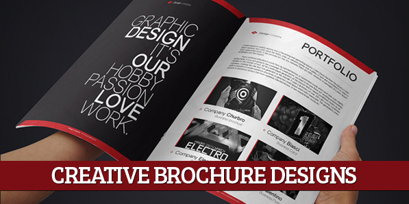 15 Creative Print Ready Business Brochure Designs Design Graphic