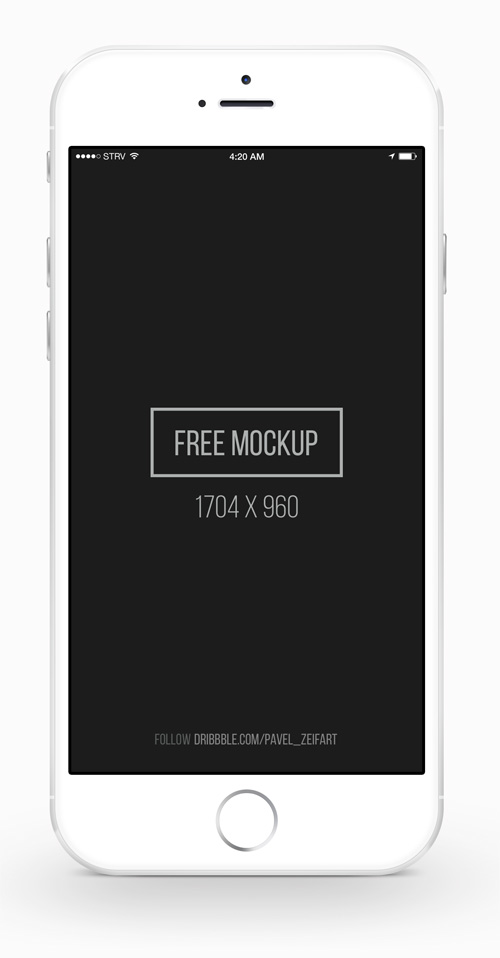 Free iPhone 6 and iPhone 6 Plus Mockups (PSD, AI  Sketch