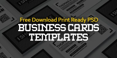 Free Business Cards PSD Templates - Print Ready Design ...