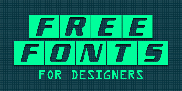 New Free Fonts For Designers in 2015 Fonts Graphic Design Junction