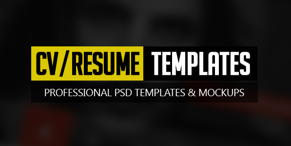 Free Modern Resume Templates \ PSD Mockups Freebies Graphic - graphic design resume templates