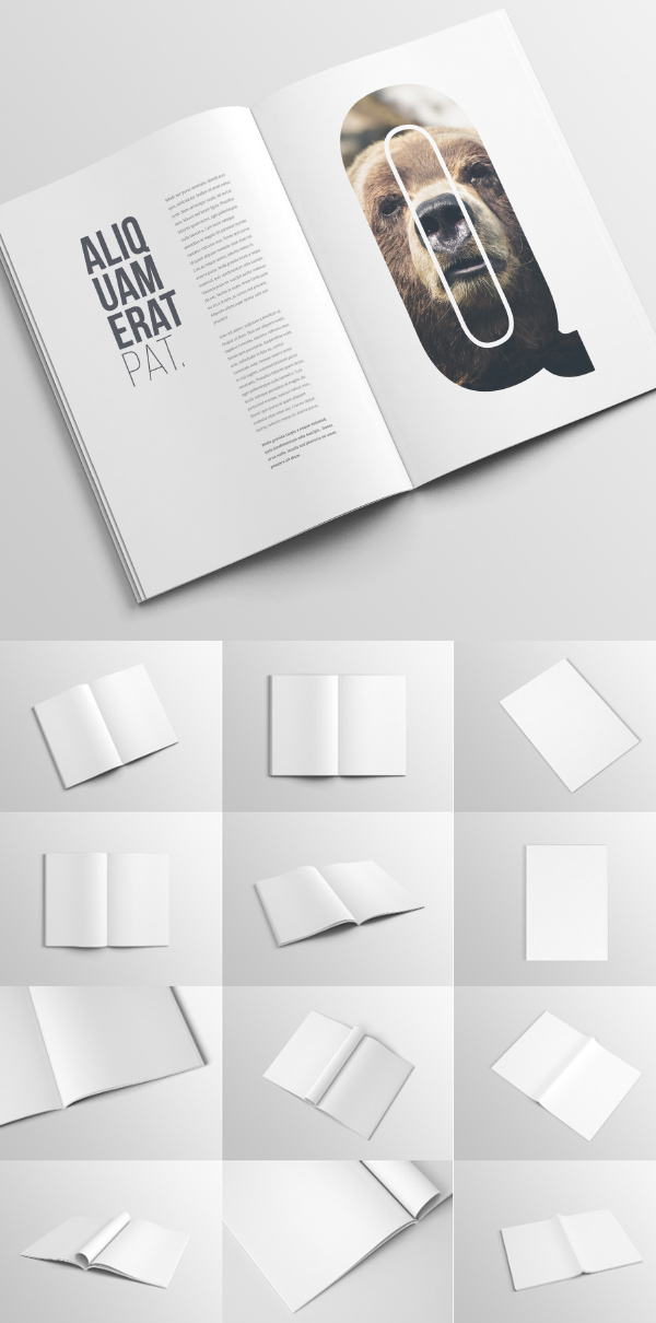 50 Free Branding PSD Mockups for Designers Freebies Graphic - free booklet template