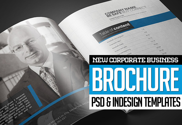 Corporate Business Brochure Templates Design Graphic Design Junction