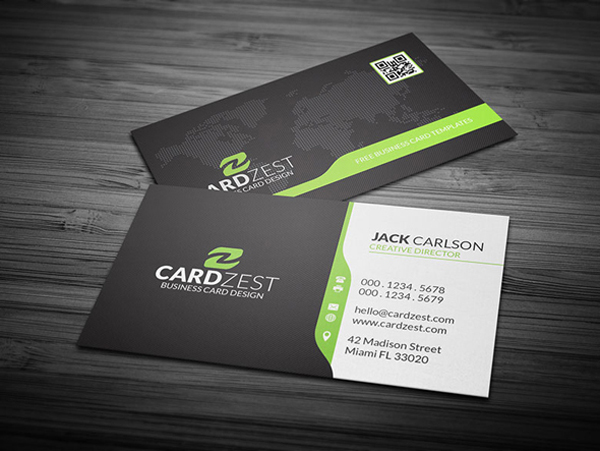 30 Free Business Card PSD Templates  Mockups Design Graphic - business card template